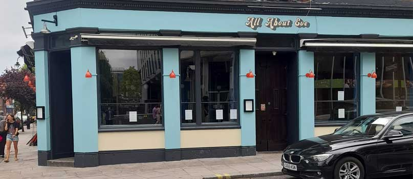 Comedy in Camden at All About Eve