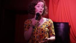 Bella Lauren Humphries  at Monkey Business Comedy Club