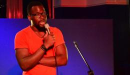 BIMISAYO ADEYI  at Monkey Business Comedy Club