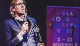 Daniel Triscott at Monkey Business Comedy Club