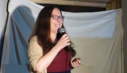 Gaelle Constant at Monkey Business Comedy Club