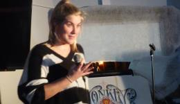 HEATHER FAIRWEATHER  at Monkey Business Comedy Club