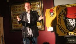 DAVID TSOMAS  at Monkey Business Comedy Club