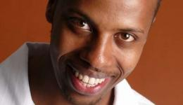 Prince  Abdi at Monkey Business Comedy Club
